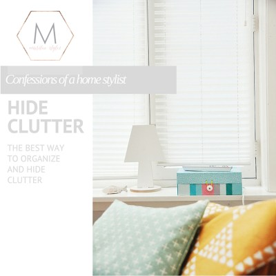 The Best Way to Hide Your Clutter