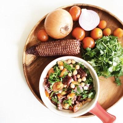Easy to Do Healthy Purple Corn Salsa Recipe