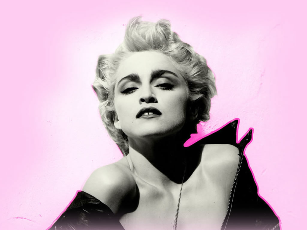 Beautiful Girl Wearing Hat Wallpaper Madonna Marilyn Forever