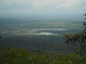 Pantanal visto da serra