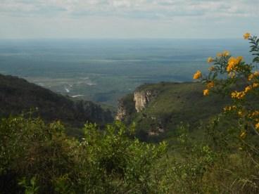 Cânion do Ramalho / Pantanal ao fundo