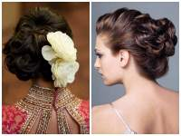 Indian Wedding Hairstyles for Medium Length Hair to Adorn ...