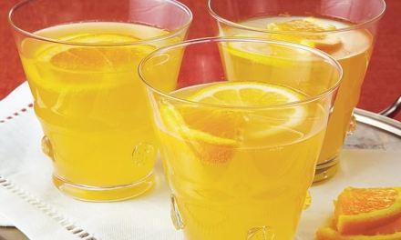 Sweet Champagne Lemonade