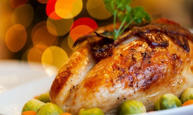 Guinness Brined Turkey with Onion Gravy