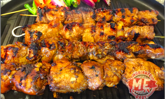 Hawaiian Barbecue Huli Huli Chicken Kabobs