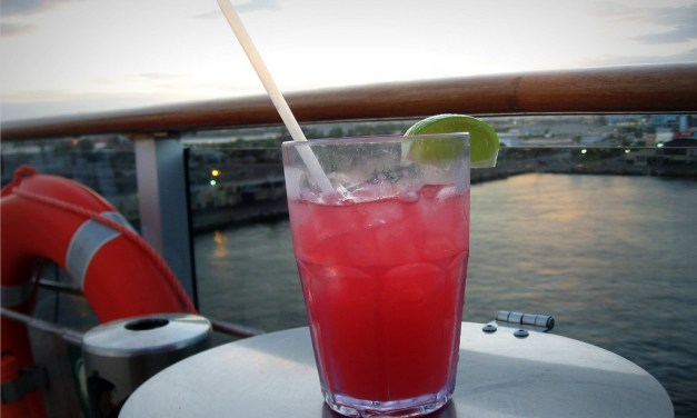 Caribbean Sunset Mocktail