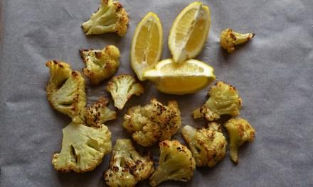 Amazing Spicy Roasted Cauliflower
