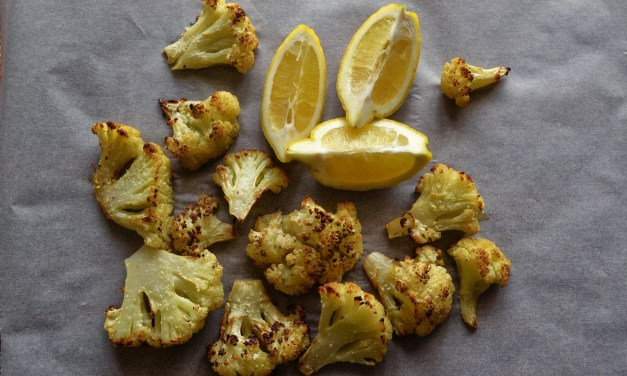 Amazing Spicy Roasted Cauliflower