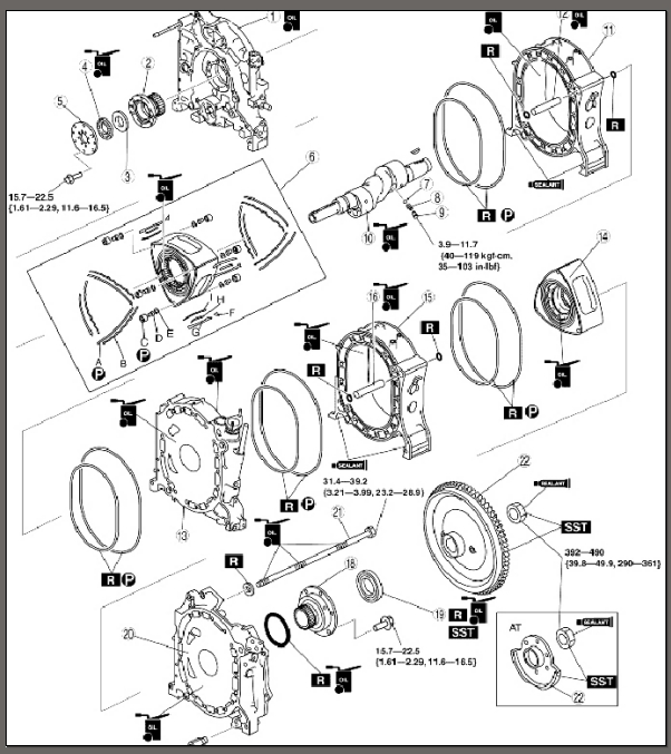 rx8 rotary engine diagram