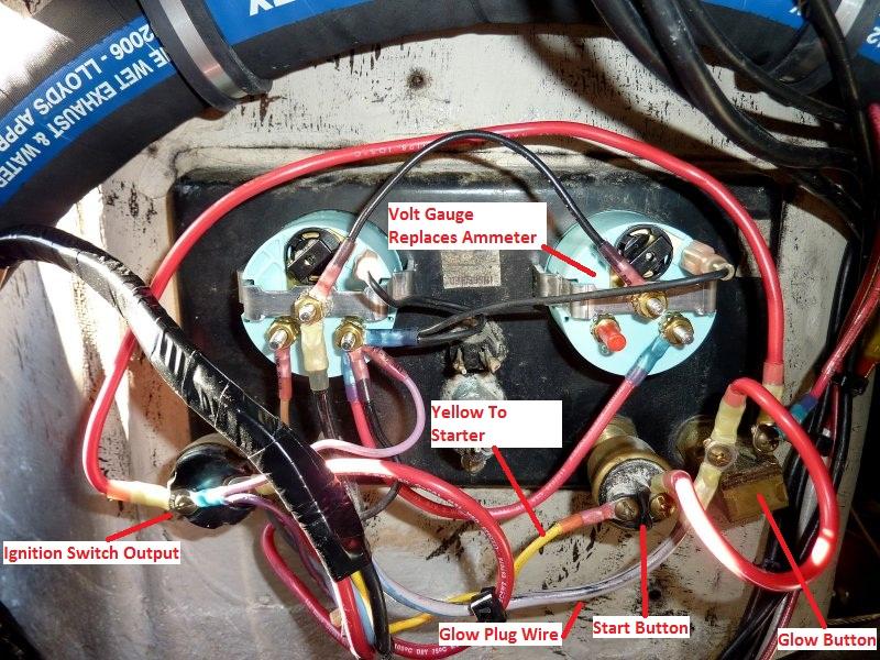 Universal Diesel Engine \u2013 Wiring Harness Upgrade \u2013 Marine How To
