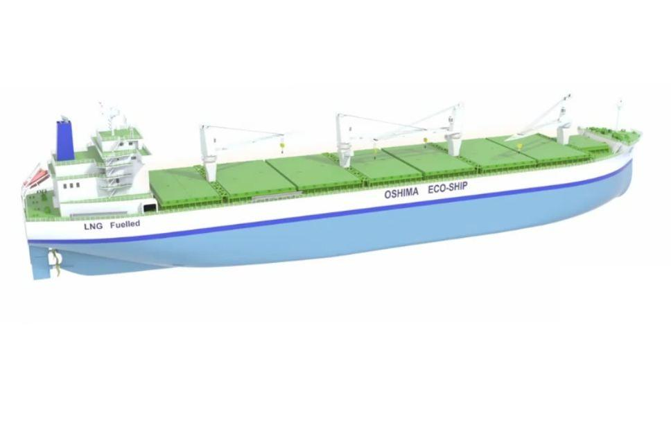 Eco-Ship 2020 A Futuristic Open Hatch Bulk Carrier Concept - vehicle purchase agreement