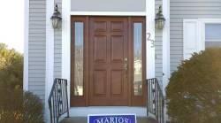 Prissy After Rma Tru Door Installation Job Marios Roofing Rma Tru Doors Lowes Rma Tru Doors Stain Colors