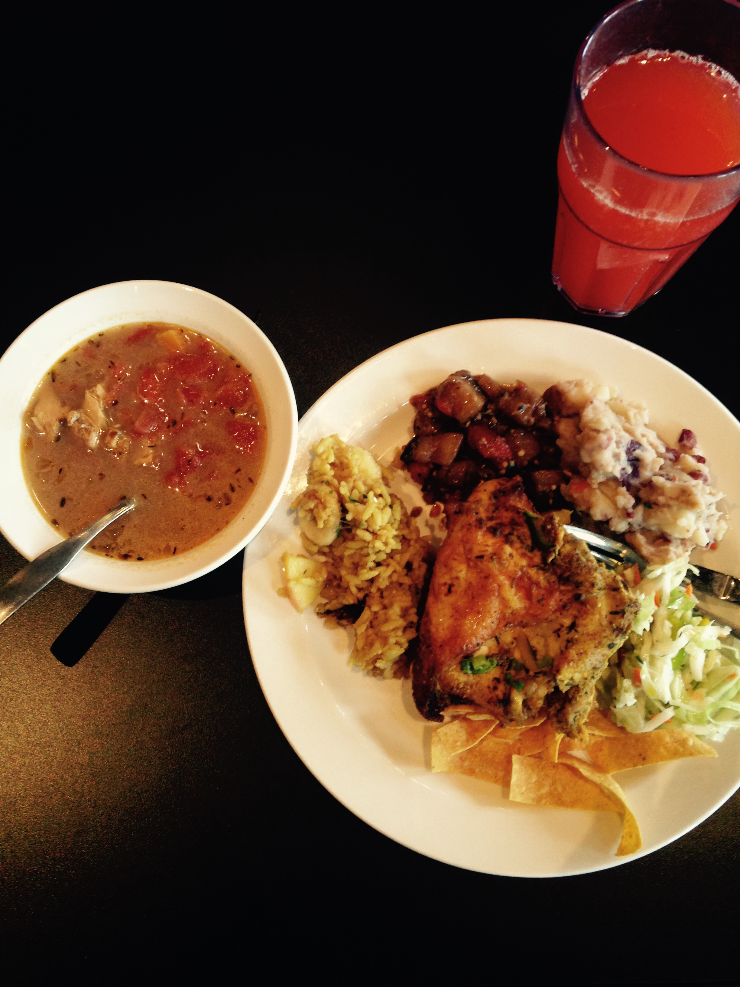 Jamaican Cuisine Cafe Behind The Chicken A Lesson In Jamaican Cuisine The