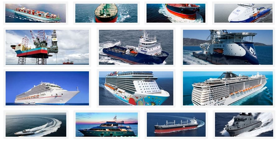 List Of Ship Managers Maritime Careers Ebook - types of ships
