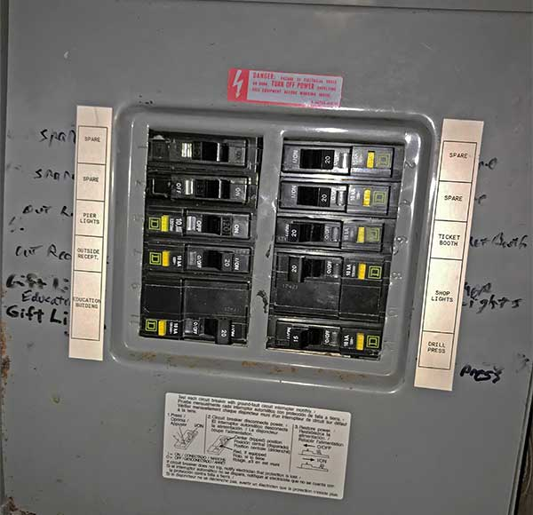 USS PAMPANITO - ELECTRICAL SAFETY UPGRADE - 2018