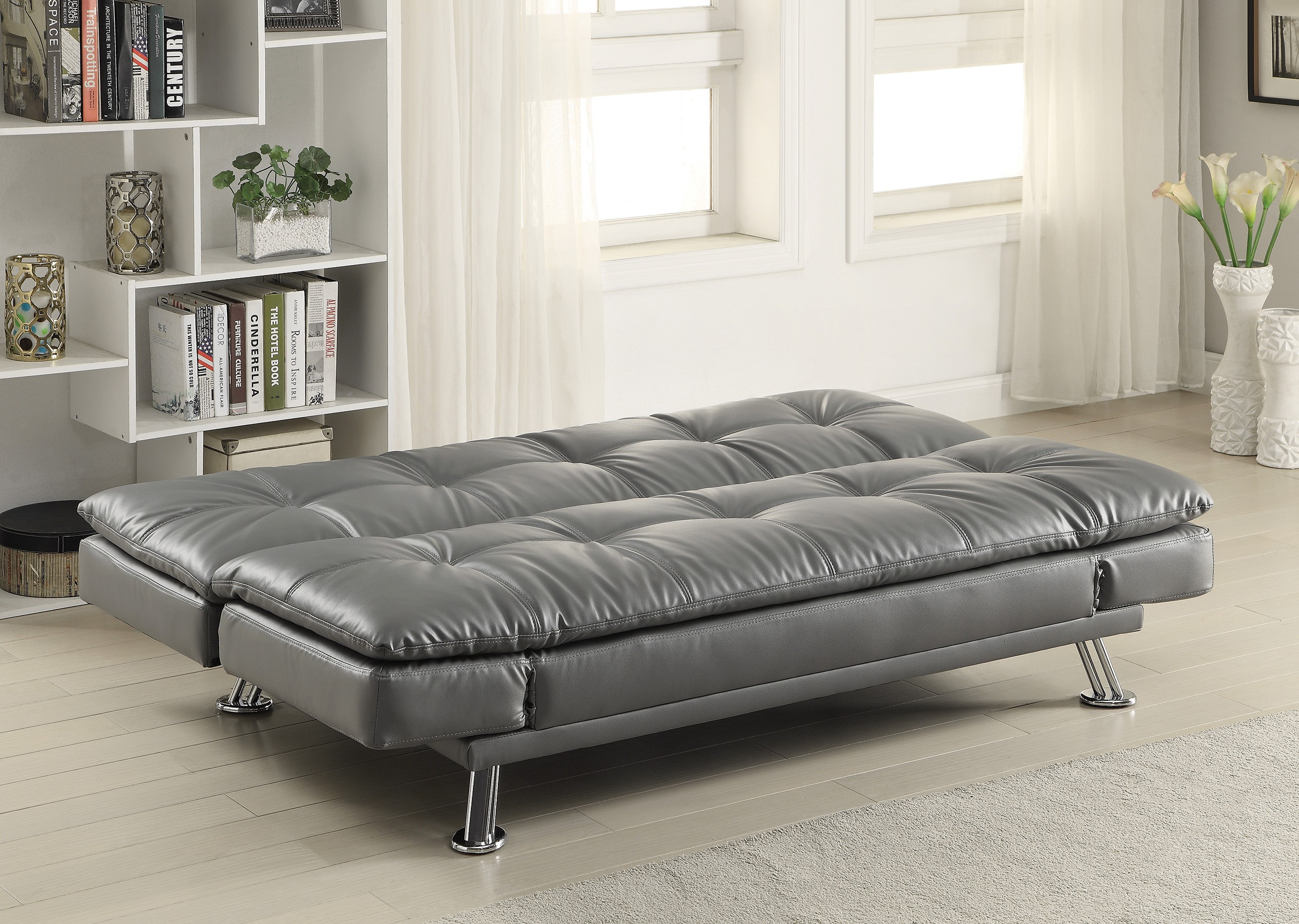 Storage Bed Chaise Sofa Sofa Bed Grey With Available Matching Chaise And Storage