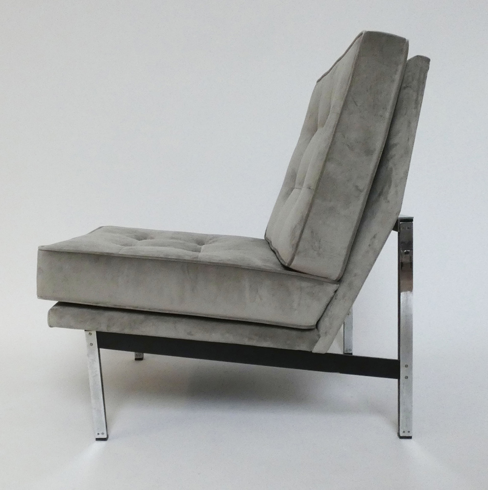Florence Knoll Sessel Parallel Bar Lounge Chair 51