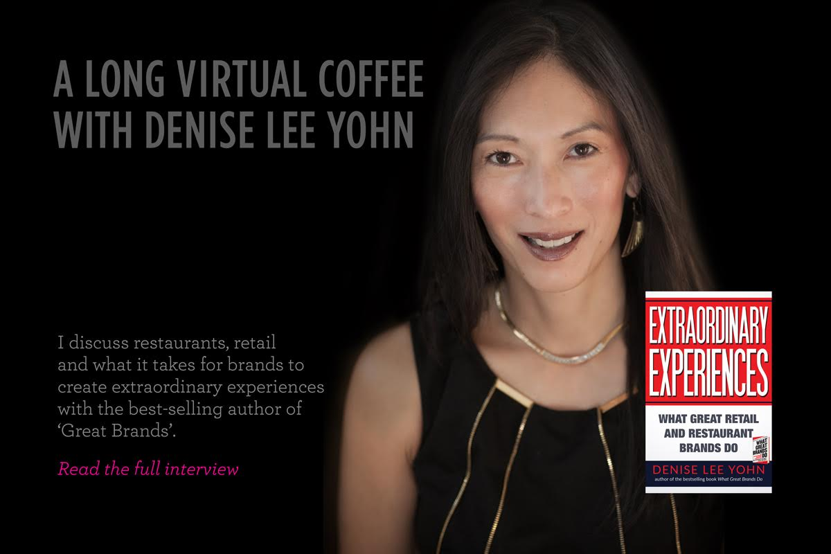 Denise Lee Yohn Virtual Coffee feature box
