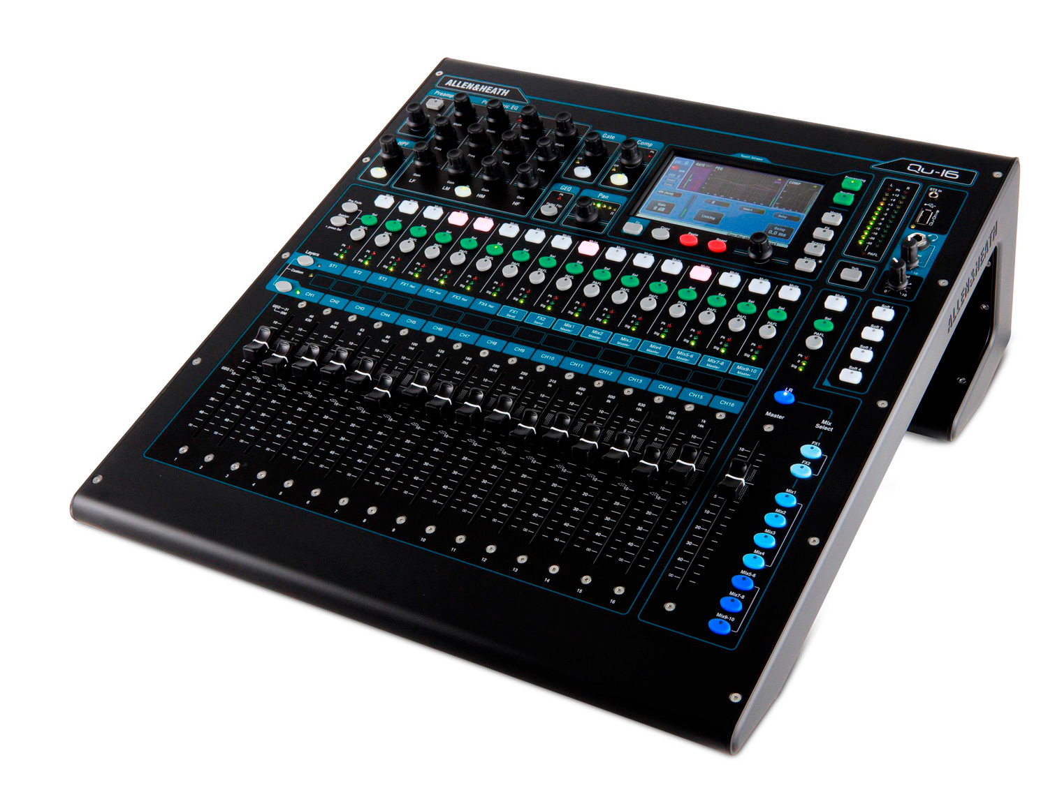Mesa De Sonido Digital Allen And Heath Qu 16 16 Channel Digital Mixer