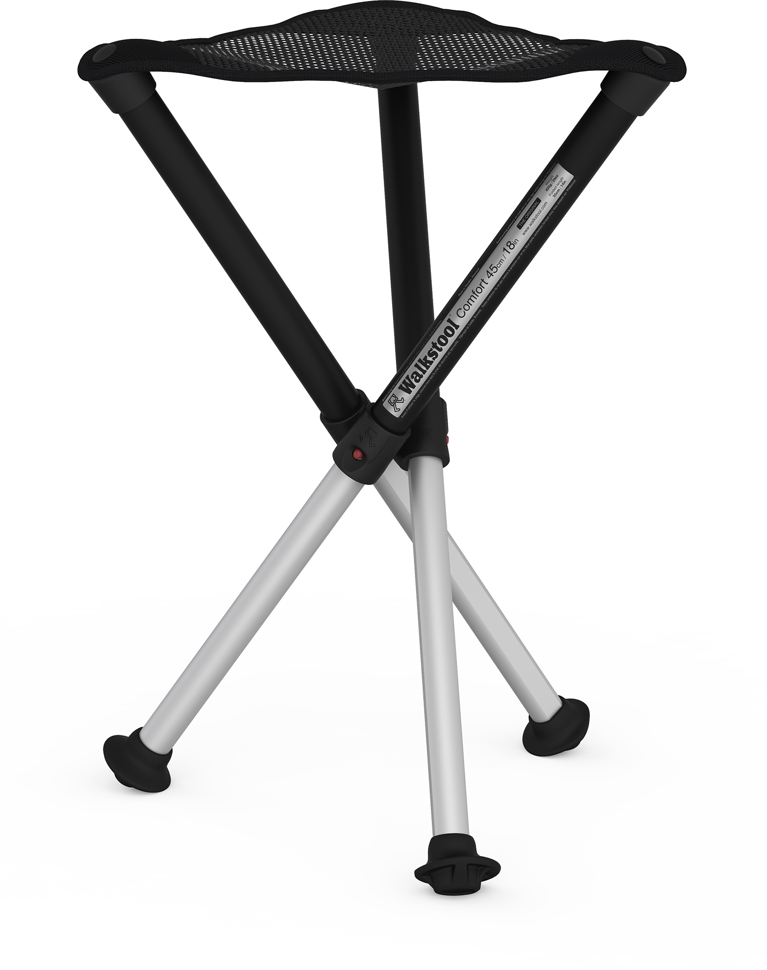 Portable Stool Walkstool Wa18 18in Portable Stool With Carry Case