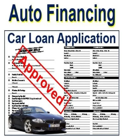 Auto financing - definition and meaning - Market Business News
