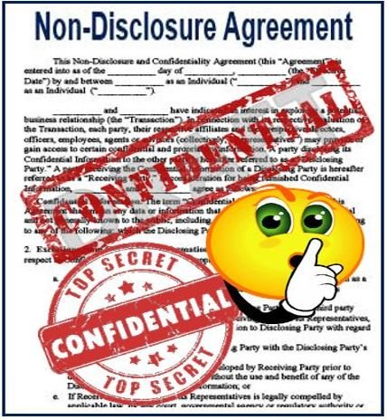 What is a non-disclosure agreement? Definition and meaning - Market - non disclosure agreement