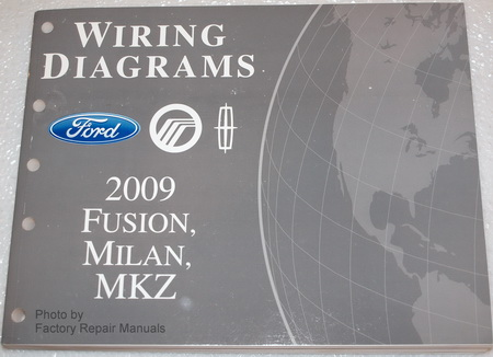 2009 Ford Fusion, Mercury Milan  Lincoln MKZ Electrical Wiring