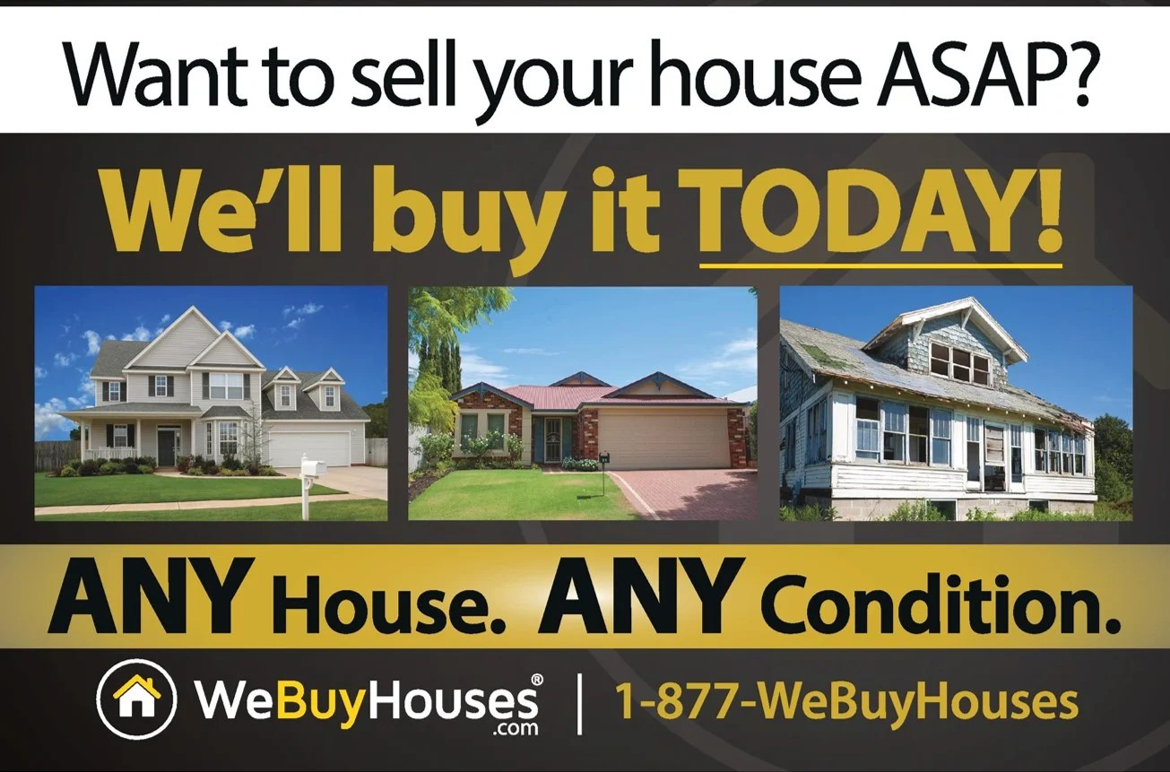 Who Buy Homes Any House Postcard Series | We Buy Houses® Marketing Portal