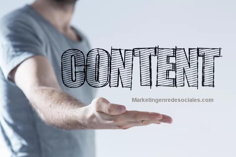 plan de contenidos