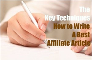 Best affiliate article