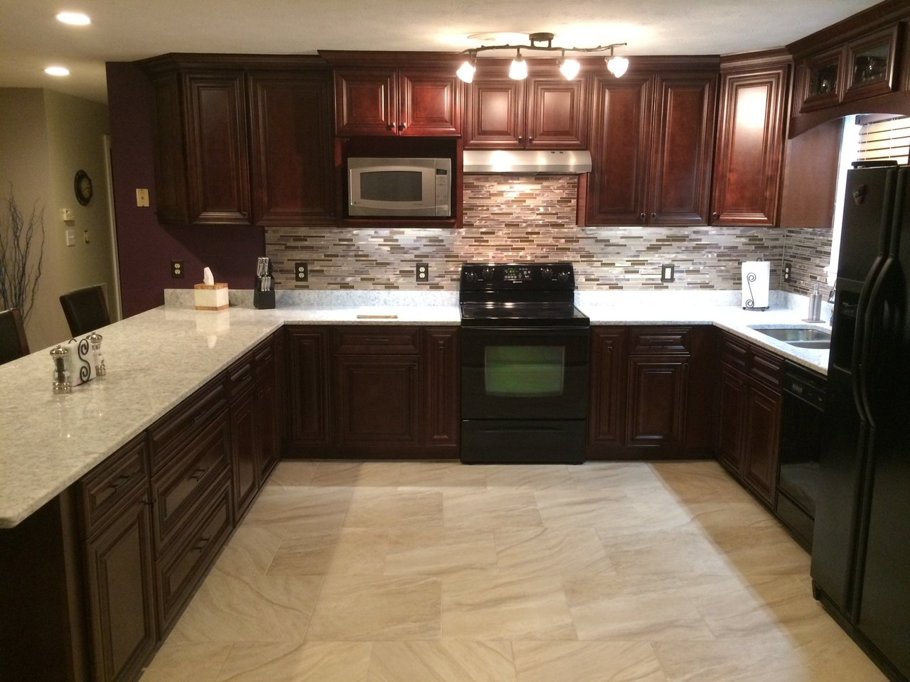 How To Choose A Countertop Color 5 Tips For Matching Kitchen Cabinets Countertops Surplus Sales