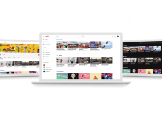 YouTube's New Look