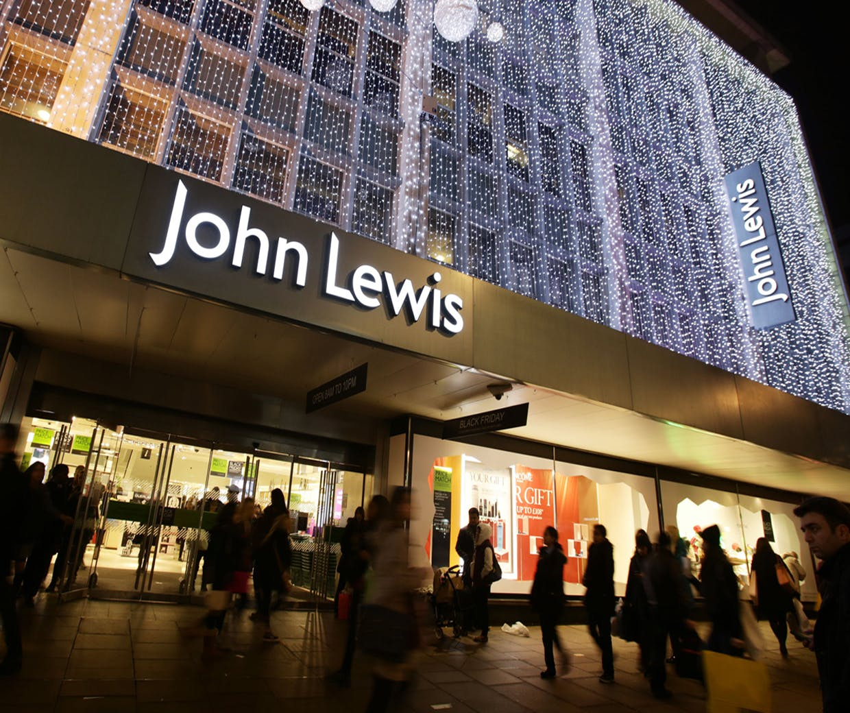 Black Friday Week John Lewis Says It Won't Be Drawn Into A Price War This