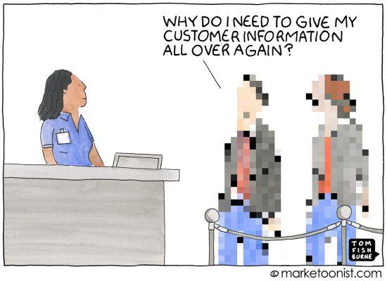 Customer Experience cartoon Marketoonist Tom Fishburne