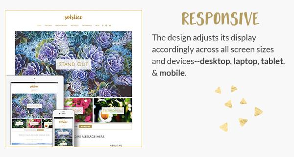 Solstice - Elegant WordPress Theme - Themes  Templates