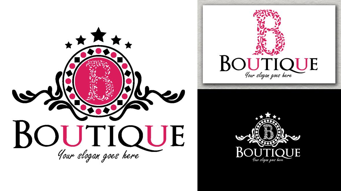 Boutique - Logo - Logos  Graphics