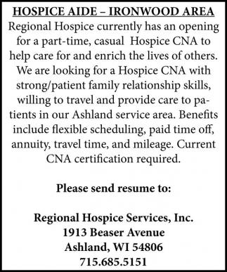 hospice cna - Towerssconstruction