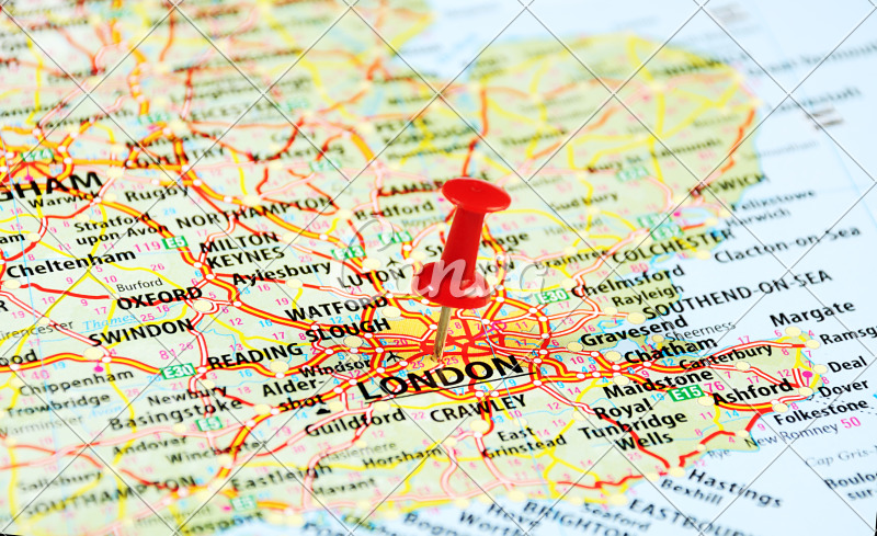London ,UK Map Pin - Photos by Canva