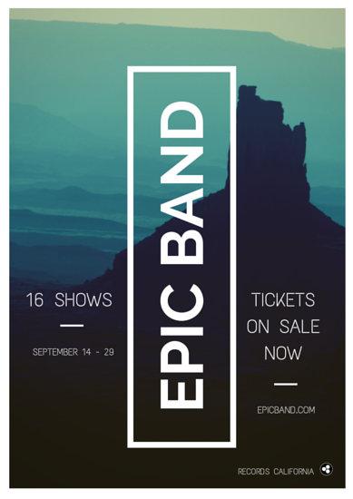 Customize 155+ Concert Ticket templates online - Canva - concert ticket layout