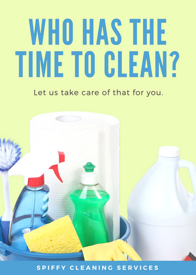 cleaning flyer - Amitdhull - house cleaning flyer template