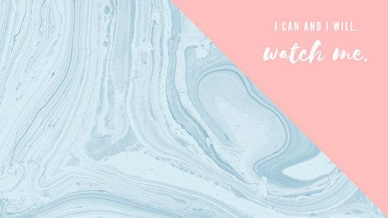 Wallpaper Hd For Desktop Full Screen Cute Baby Pink And Blue Marble Motivational Desktop Wallpaper