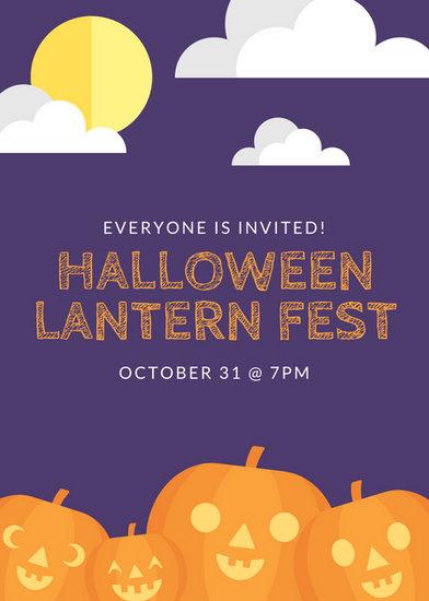 halloween flyer background