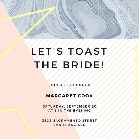 Customize 636+ Bridal Shower Invitation templates online - Canva