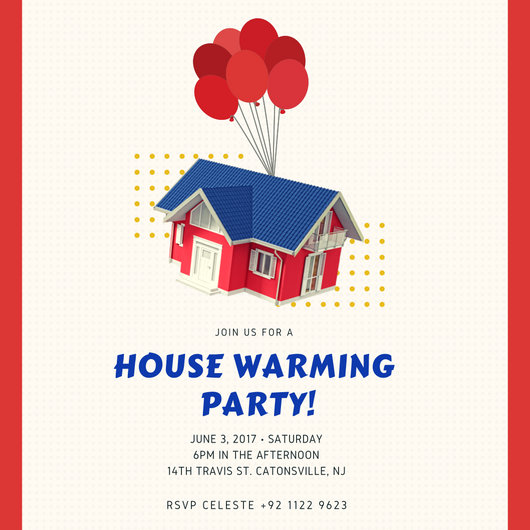 House Warming Invitation - Templates by Canva