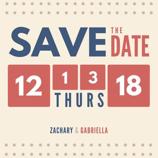 Customize 4,987+ Save The Date Invitation templates online - Canva