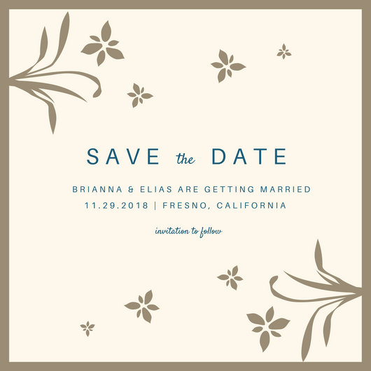 Customize 4,987+ Save The Date Invitation templates online - Canva - Save The Date Wedding Templates
