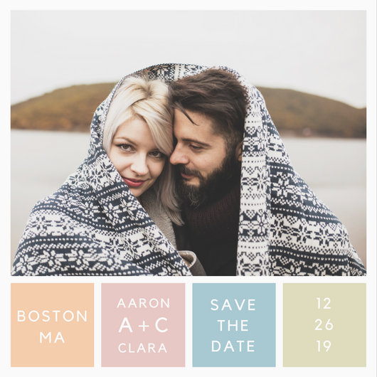 Wedding Save The Date Invitation - Templates by Canva