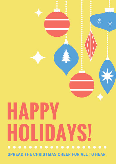 Customize 54+ Holiday Poster templates online - Canva - holiday signs for closing office
