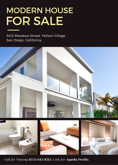 Customize 101+ Real Estate Flyer templates online - Canva