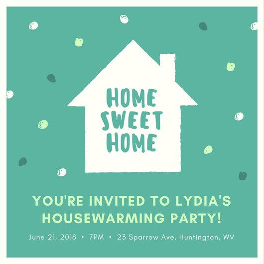 Customize 39+ Housewarming Invitation templates online - Canva - housewarming invitation template